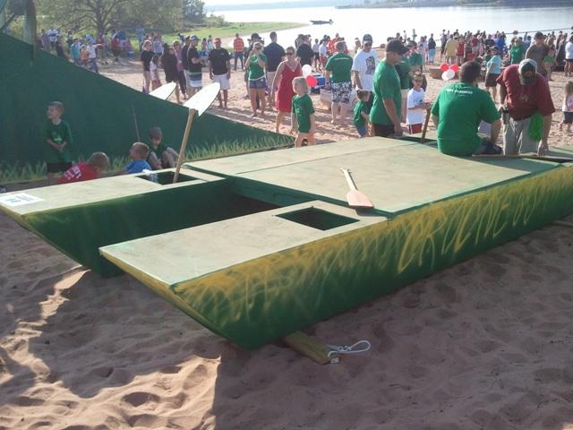3rd Annual Arcadia Lake Cardboard Boat Regatta