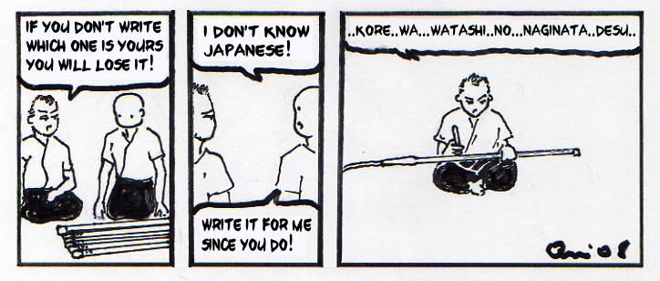 naginata humor